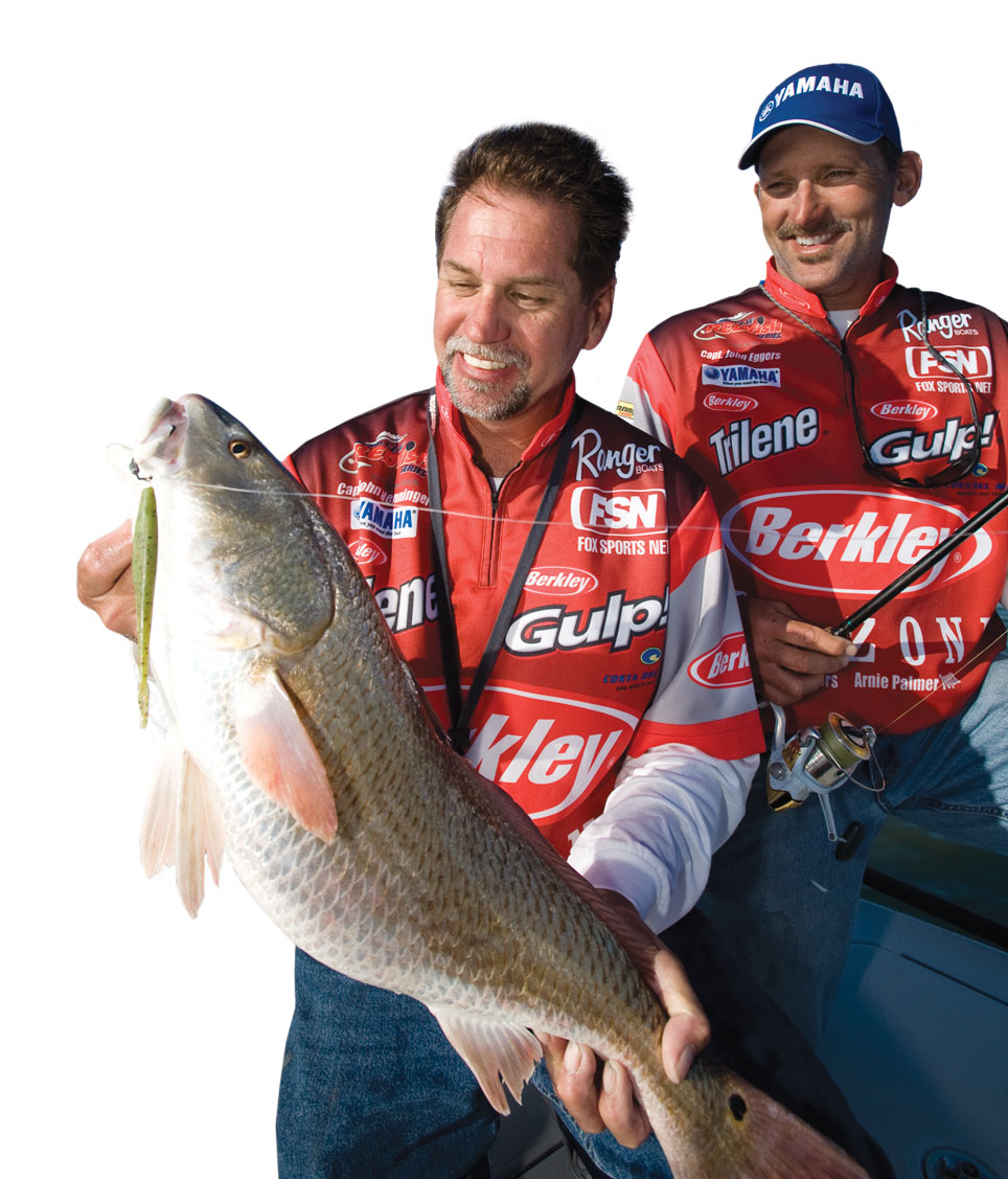 John fishing Redfish tour awards ceremony