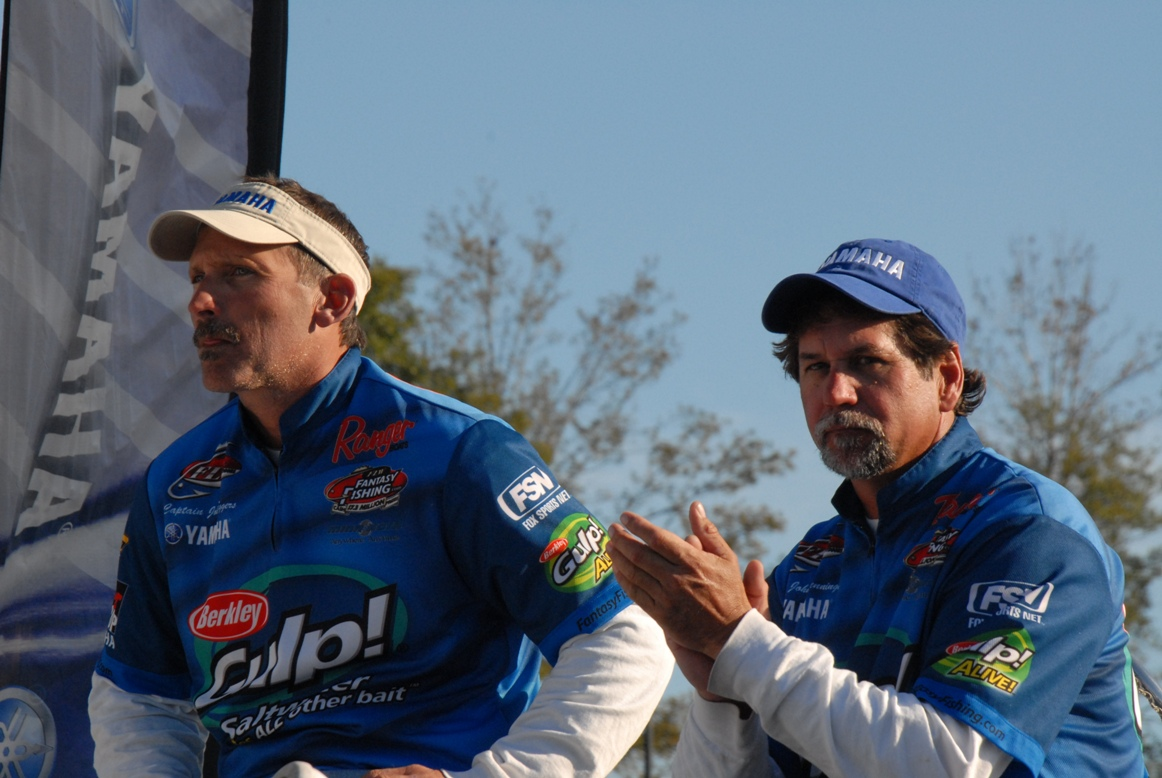 John fishing Redfish tour awards ceremony